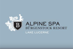 Alpine Spa at Bürgenstock Hotel, Switzerland