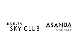 Delta Sky Club's Asanda Spa Lounge