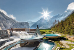 The Thermal Spa at AquaDome Tirol Therme Längenfeld