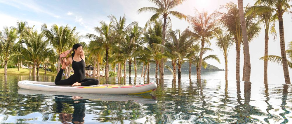 JW Marriott Phu Quoc Emerald Bay Surf Yoga