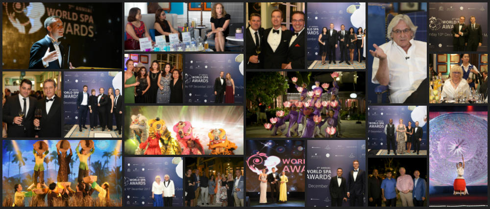 World Spa Awards 2017 collage