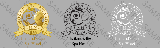 World Spa Awards winner shield sample